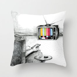 Mindless Distractions Throw Pillow