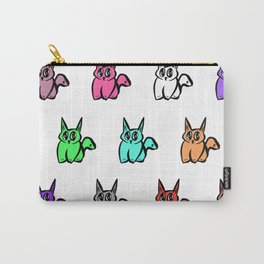 The Multicolor Pussy Cat Parade Carry-All Pouch
