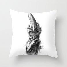 Cassowary  G2012-066 Throw Pillow