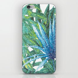 Philodendron & Flora iPhone Skin