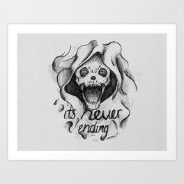 Everything with Skulls - 02 Art Print