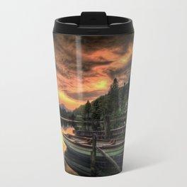 Spring Sunset On Loch Ard Travel Mug