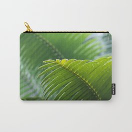 Tropical Palm Tree Leaf Carry-All Pouch