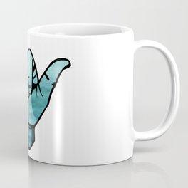 Ocean Bluse Hang Loose Coffee Mug