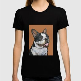 Snoopy the Boston Terrier T-shirt