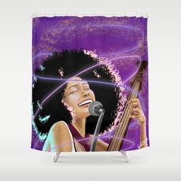 Esperanza Spaulding - Black Girl Magic Shower Curtain