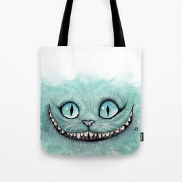 Cheshire Cat - Drawing - Dibujados Tote Bag