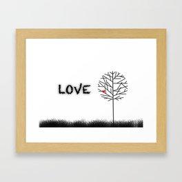 αγάπη Framed Art Print