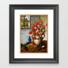Hungarian Poppies Framed Art Print