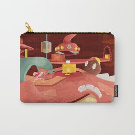 The Food In My Mouth Carry-All Pouch