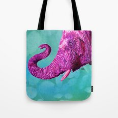 Elephant Cyril. Candy Colored Edition Tote Bag