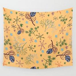 Winterpattern2 Wall Tapestry