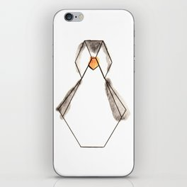 Pingouin Origami iPhone Skin