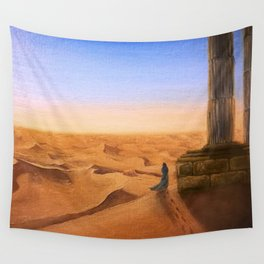 Lost in Time and Space Wall Tapestry