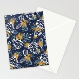 Festive Forest - Navy Stationery Cards