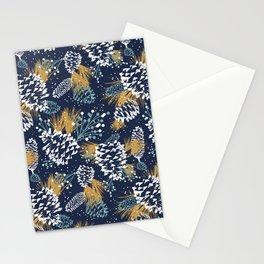 Festive Forest - Navy Stationery Cards