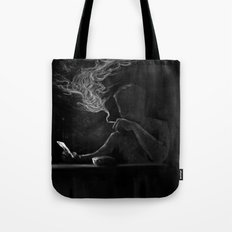 Twisted Reflection Tote Bag