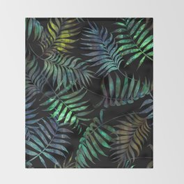 Reeya Tropical {Jade} Throw Blanket