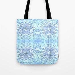 Frozen Blue Stars Tote Bag