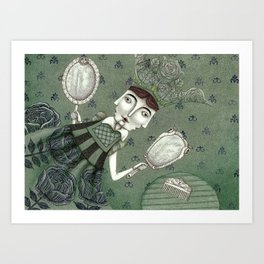 Schneewittchen-The New Queen Art Print