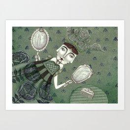 Schneewittchen-The New Queen Art Print