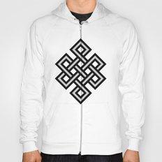 Tibetan knot symbol Hoody