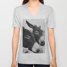 Donkeys Unisex V-Neck