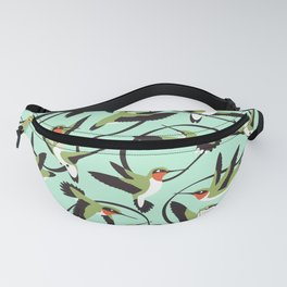 Hummingbirds with Ribbons Fanny Pack