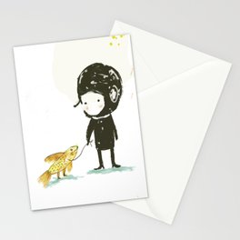 Lester, take a walk. Stationery Cards