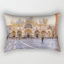 Saint Mark's Basilica, Venice (Italy) Rectangular Pillow