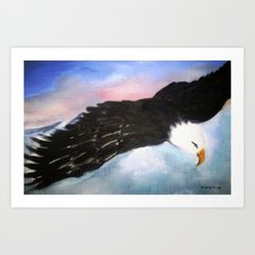 Soaring High Art Print