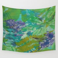 jungle Wall Tapestries featuring JUNGLE by icydorTM