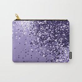 ULTRA VIOLET Glitter Dream #1 #shiny #decor #art #society6 Carry-All Pouch