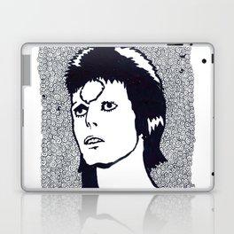 Starman, with larger white border Laptop & iPad Skin