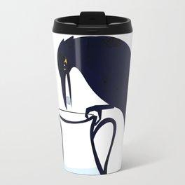 The Crow and the Pitcher Travel Mug