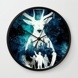 The Potter Reindeer Wall Clock