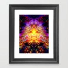 Cosmic Radiation Framed Art Print
