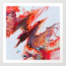 Agéris Art Print