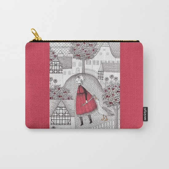 The Old Village Carry-All Pouch