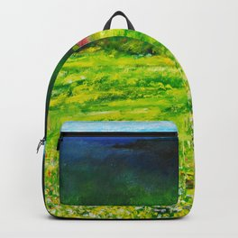 A Summer Walk In The Field Backpack