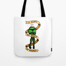I Ain't No Piece of Meat Tote Bag
