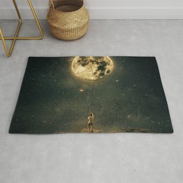 pulling the moon Rug