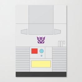 Megatron Minimalist Canvas Print