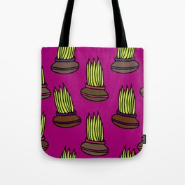 Lemongrass in Pots Tote Bag