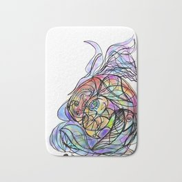 Fish2 Bath Mat