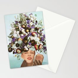 Floral Fashions III Stationery Cards