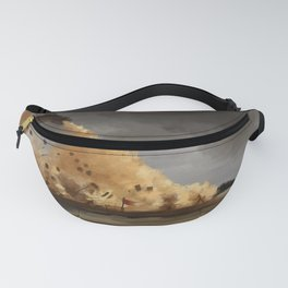 Fire and blood Fanny Pack