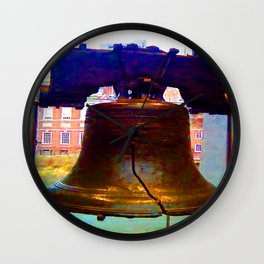The Liberty Bell Wall Clock