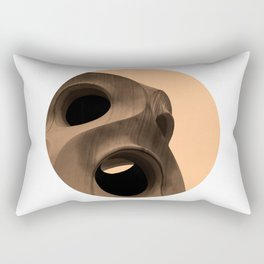 Guadi in Barcelona Rectangular Pillow