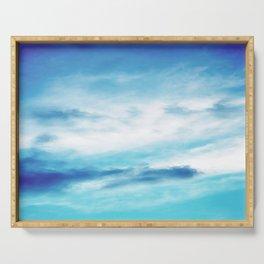 NEPHELAI SERIES Sky blend Serving Tray